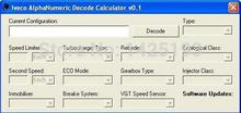 IVECO AlphaNumeric Decode Calculator