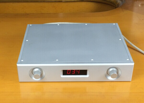 QUEENWAY Audio BZ3206HT Full Aluminum Chassis Audio box/ amplifier case 321mm*62mm*252mm 321*62*252mm queenway audio 2215 cnc full aluminum amplifier case amp chassis box 221 5mm150mm 311mm 221 5 150 311mm