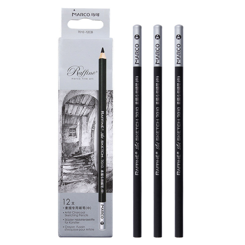 1Pc Marco Sketch Special Carbon Pen Professional S-M-H Student Graffiti Paniting Tools School Office Darwing Stationey Supplies
