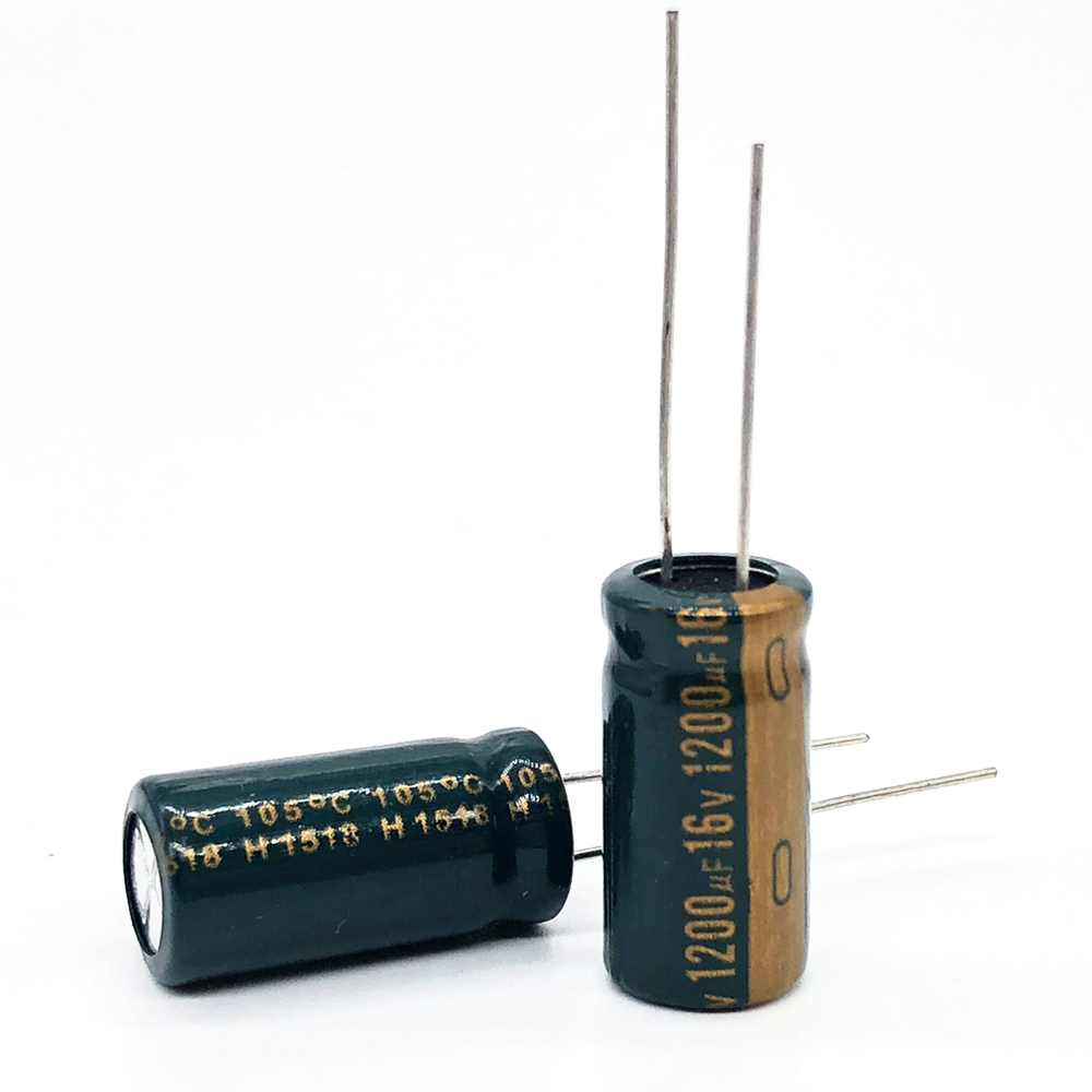 16V 1200UF 10*20  High Frequency Low Impedance Aluminum Electrolytic Capacitor 1200uf 16v 20%