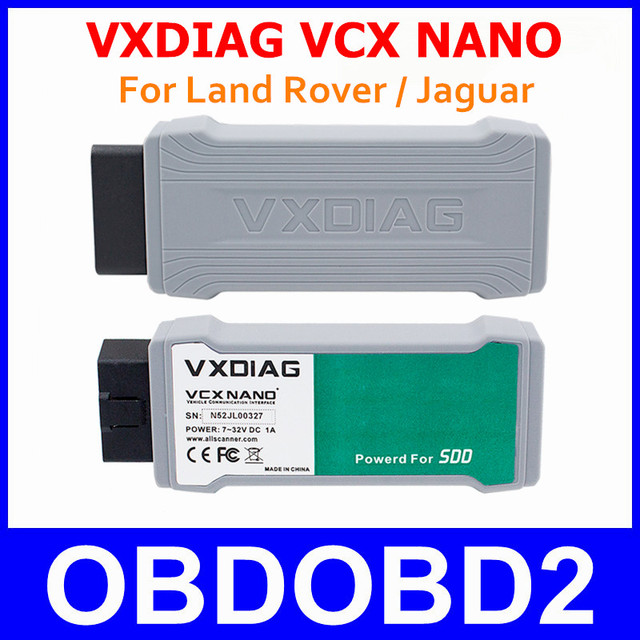 2016 VXDIAG For Land Rover For Jaguar VXDIAG VCX NANO 2 IN 1 Diagnostic Tool Newest Software SDD V141 For JLR All Protocols