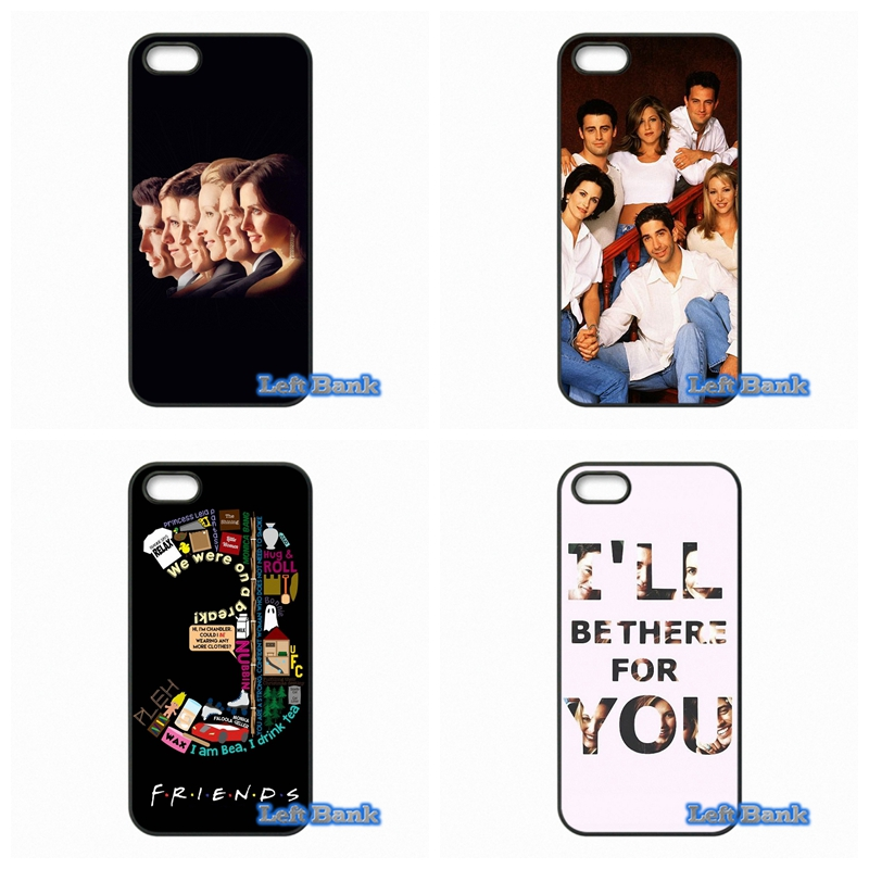 Друзья ТВ-шоу постер Телефонные чехлы Чехол для Apple IPhone 4 4S 5 5S 5C SE 6 6 S 7 Plus 4.7 5.5 Ipod Touch 4 5 6