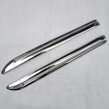 for nissan nv200 evalia accessories chrome side Door track path Slide rail cover Trim car styling