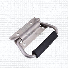 free shipping metal hardware handle Luggage Accessories air box handle tool box 304 stainless steel handle bag toolcase industry