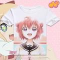 Yuruyuri T-shirt Anime Akaza Akari Cosplay T shrits Fashion Men Women Comfortable Tops Tees