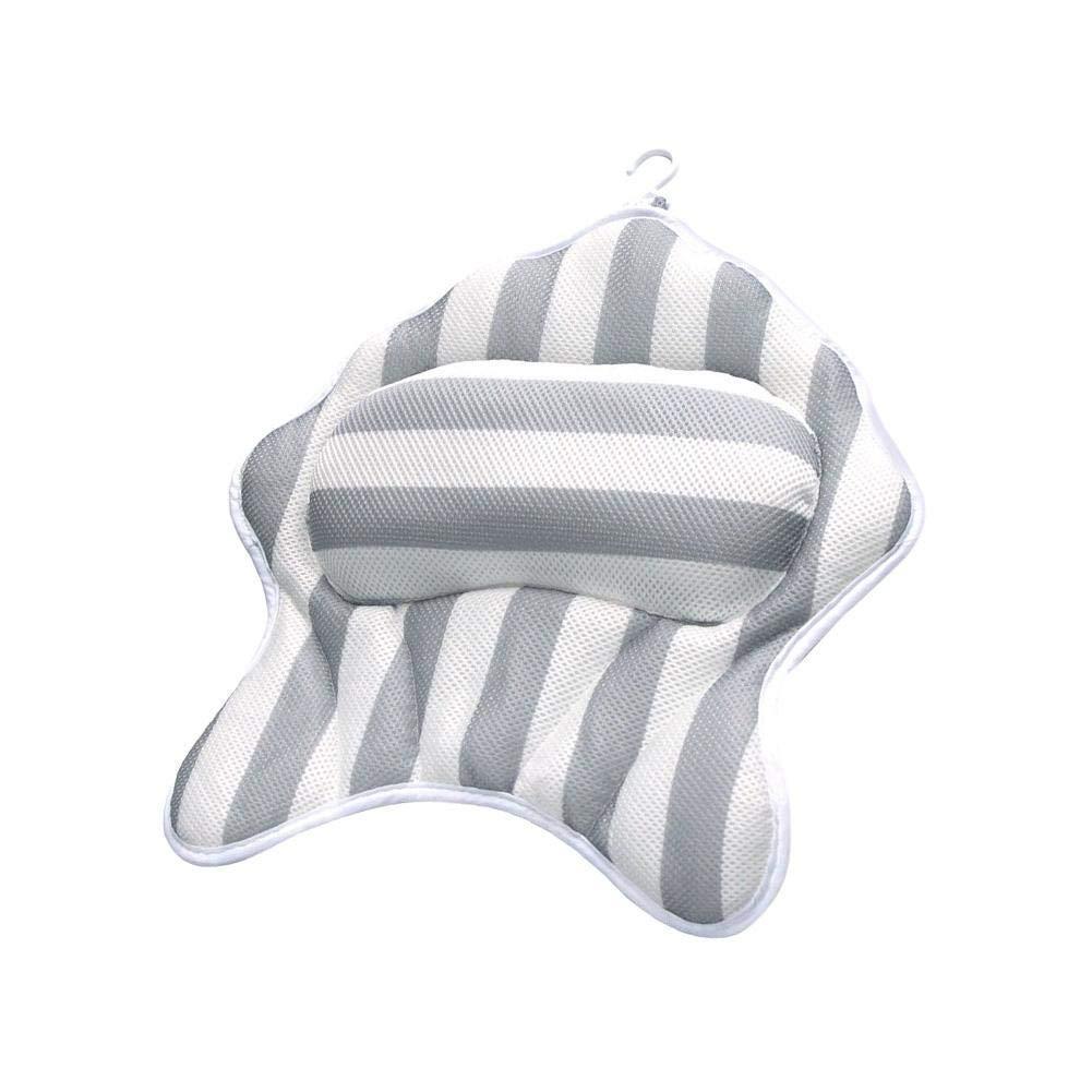 Bathtub Spa Bath Pillow Cushion Comfortable Head Rest And