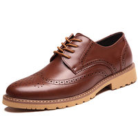 Brown Brogue Shoes