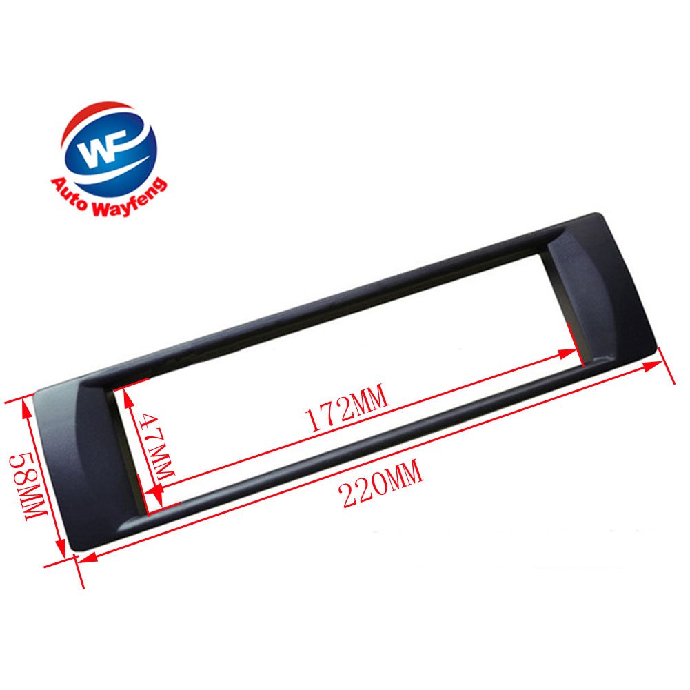 DVD panel,Dash Kit,Fascia,Radio Frame Car refitting DVD frame ,Audio frame Fit For 2003 <font><b>Audi</b></font> <font><b>A6</b></font>,1 Din image