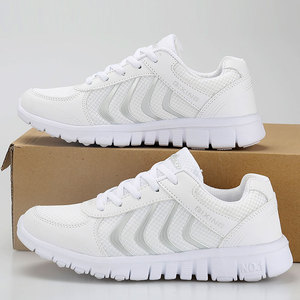 Image 4 - Kadın ayakkabı 2019 moda hafif nefes alan örgü ayakkabı kadın hızlı teslimat bayanlar ayakkabı tenis feminino kadınlar rahat ayakkabılar