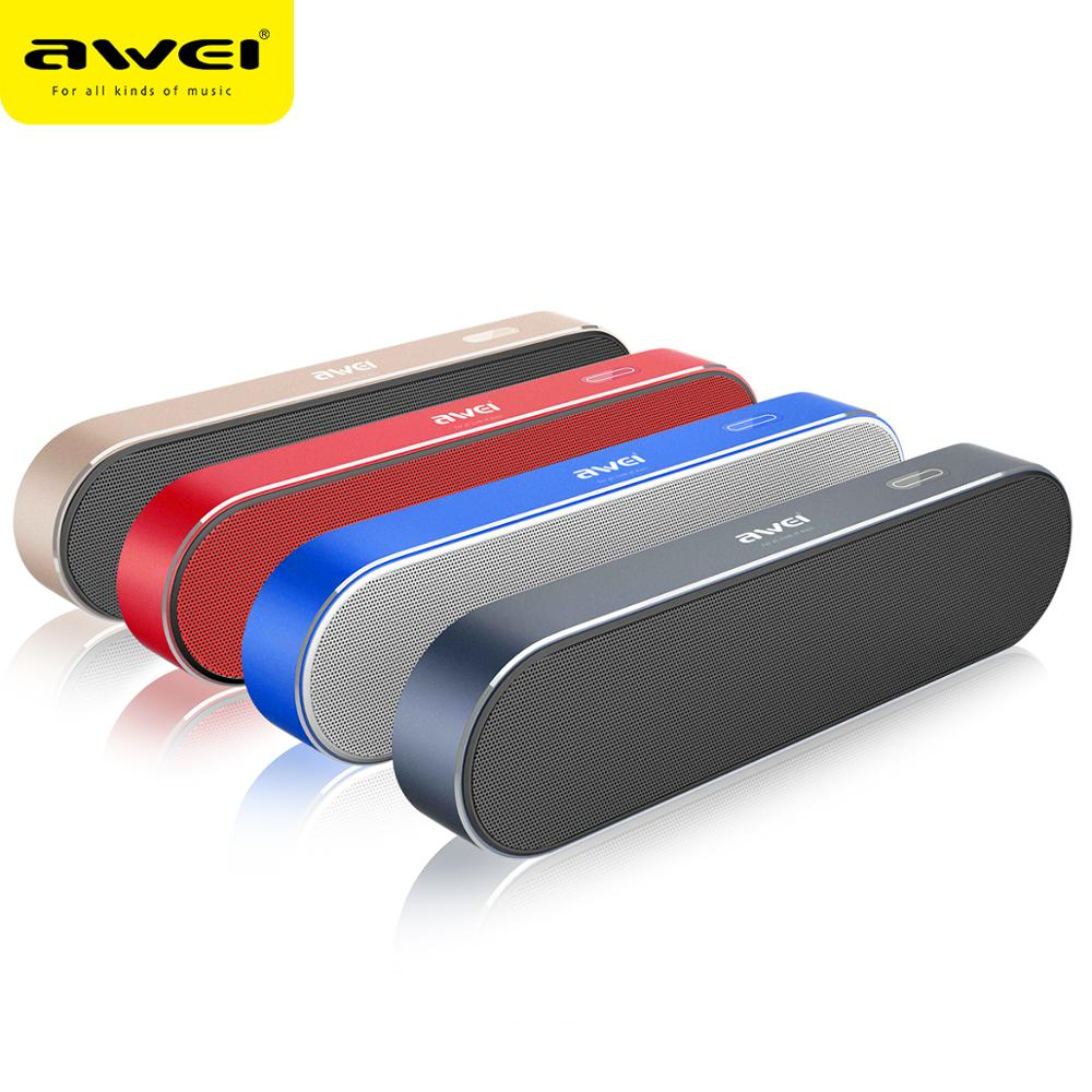 <font><b>Awei</b></font> <font><b>Y220</b></font> Wireless Bluetooth Speaker Waterproof Bookshelf Speaker Bass Sound Bar Subwoofer Music Player Sound System Loudspeaker image