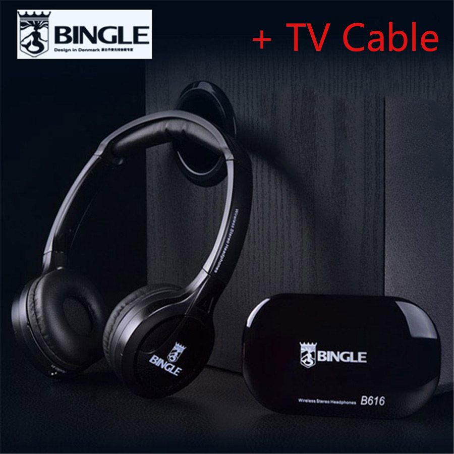 2018 Best Original Bingle B616 Multifunction stereo with Microphone FM Radio for MP3 PC Audio Headset wireless headphones for TV 2018 best original bingle b616 multifunction stereo with microphone fm radio for mp3 pc audio headset wireless headphones for tv