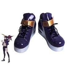 LOL KDA Akali Cosplay Shoes K/DA For Women