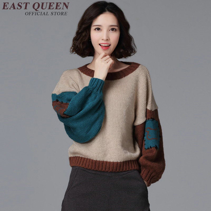 kawaii clothes korean fashion clothing christmas sweater women 2017 winter sweater woman DD160 C