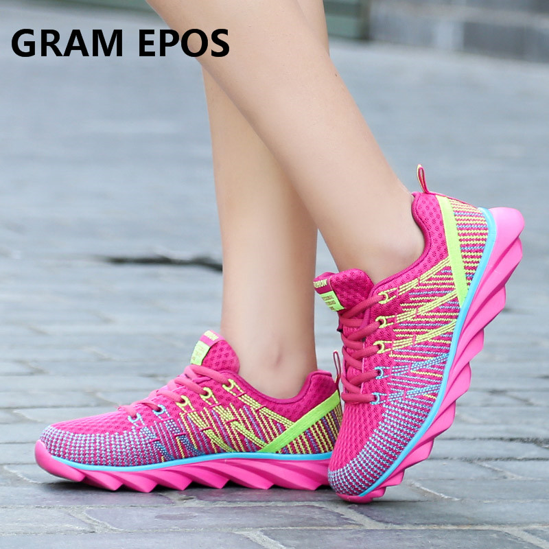 GRAM EPOS Woman Flats Breathable Mesh Shoes Comfortable Cheap Casual Ladies Shoes New Outdoor Sport Women Sneakers For Walking new running shoes for women sport shoes woman cheap spor ayakkabi sneakers sapatilha feminina chaussure femme mesh breathable