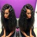 7A бразильский бодрый скручиваемость парик отбеленными узлами фронта парики glueless детские волосы короткие парики