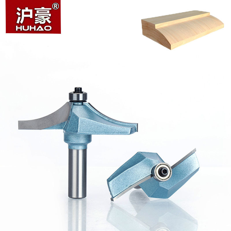HUHAO 1pc 1/2 Shank Router Bits For Wood Tungsten Carbide Cutter Bit Industrial Grade Woodworking Tools huhao 1pcs 1 2 1 4 shank classical router bits for wood tungsten carbide woodworking endmill tools classical mounlding bit