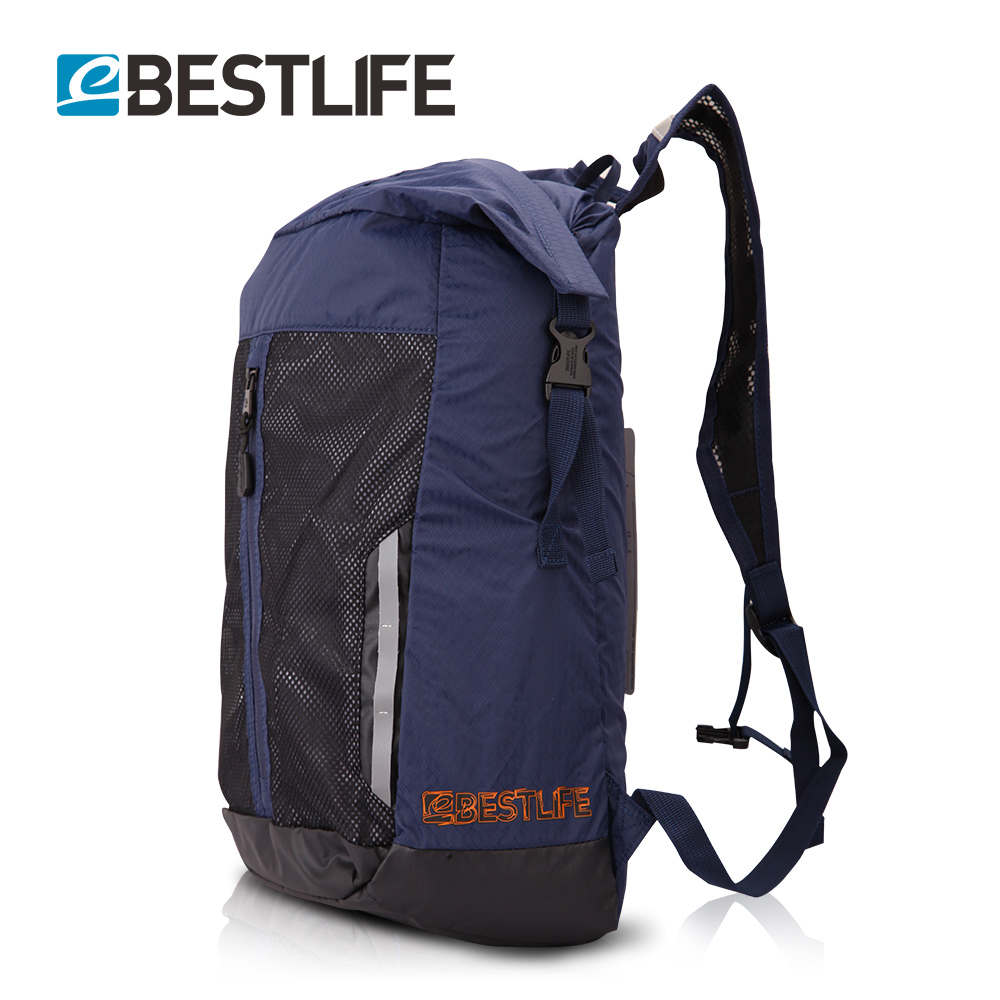 31f5e7303a BESTLIFE Light Weight Travel Bicycle Backpack Flap Pocket Rugzak Small  Duffle School Bags Portable Rucksack Mochila Masculina-in Backpacks from  Luggage ...