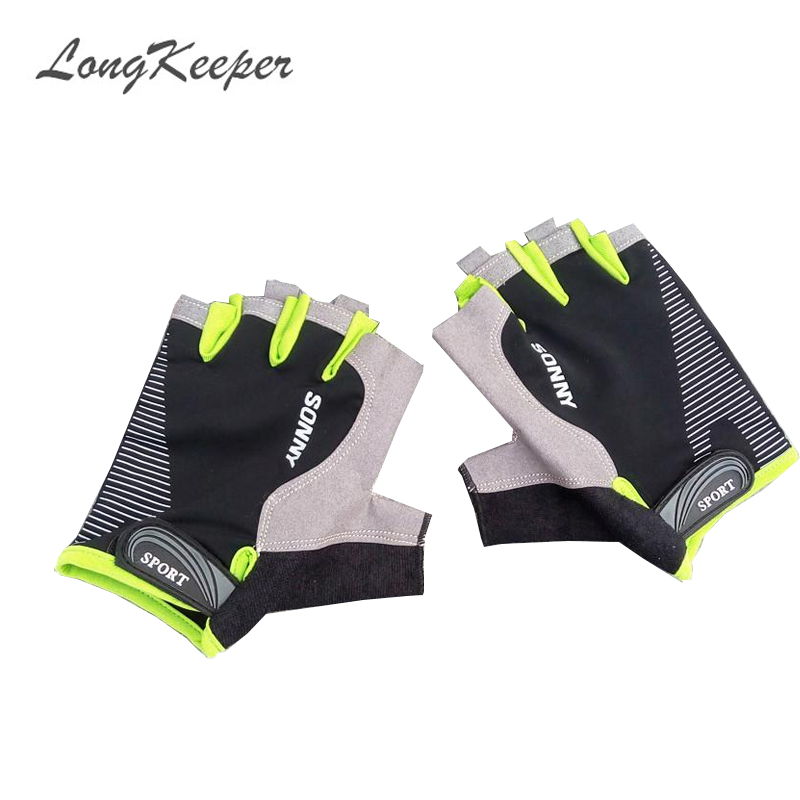 LongKeeper Fashion Gloves Half-finger Mittens Fingerless Gloves For Men Women Exercise Luva Tatica Guantes SXJ10