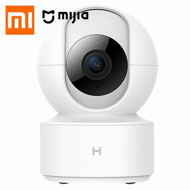 XIAOMI Mijia HD 1080P caméra IP intelligente AI deux voies voix panoramique-inclinaison Webcam CCTV pour la maison intelligente visualisation à distance alarme automatique