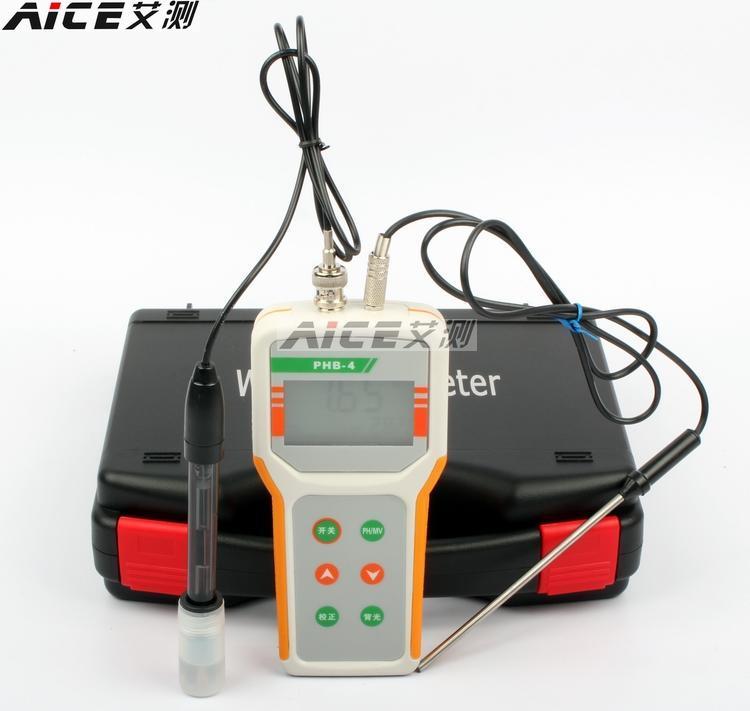 (qi Wei) Phb-4 Mikrocomputer Ph Meter Tragbaren Ph-meter Ph Mess Temperaturkompensation Für Temperaturkompensation