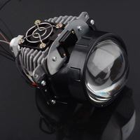 Car LED Headlight H7 9006 H4 35W 40W 6000K High Low Beam Car styling Modification Bi LED Projector Lens Headlight