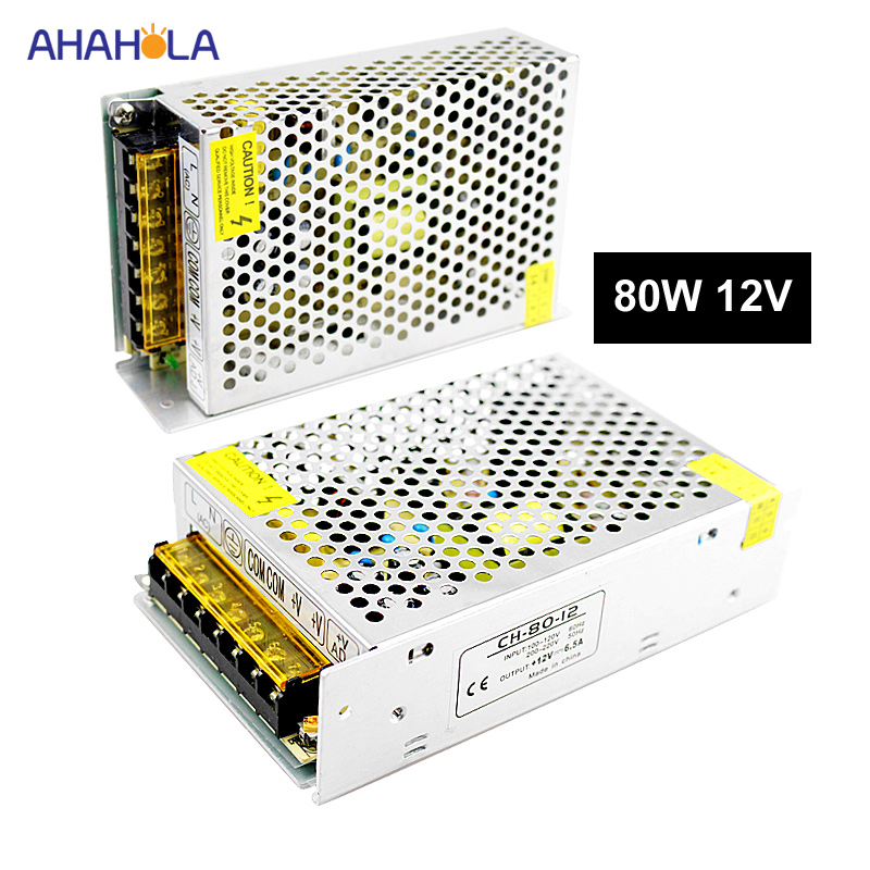 Switching Power Supply 12v 6a 80w Source Power 12 v 220v to 12v AC-DC Power Supply DC12v 80w Source Fuente De Alimentacion aigo g5 active power supply rated power 500w max power 600w 12v atx pc desktop computer power supply fuente de alimentacion page 4