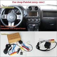 Yeshibation Rear View Camera For Jeep Compass 2011~2016 Back Up Reverse Camera Sets RCA & Original Screen Compatible