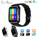Bluetooth novo smart watch phone support tf cartão sim dial ligue dispositivos wearable smartwatch para apple iphone android telefone pk DZ09