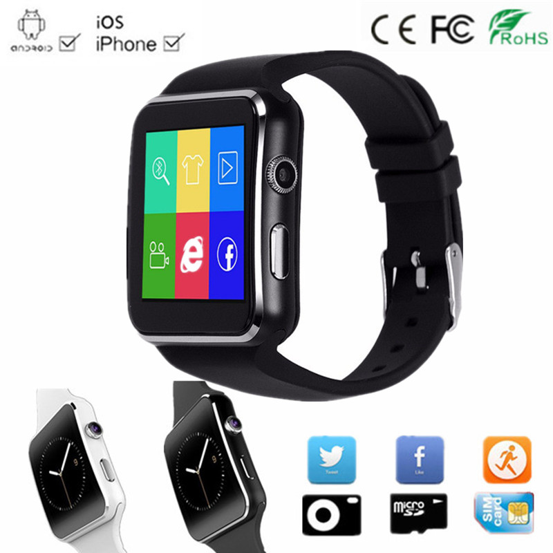 New Bluetooth Smart Watch phone Support TF SIM Card Dial ...