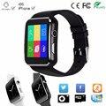 Nuevo bluetooth apoyo tf tarjeta sim del teléfono smart watch dial dispositivos portátiles de llamada smartwatch para apple iphone android teléfono pk DZ09