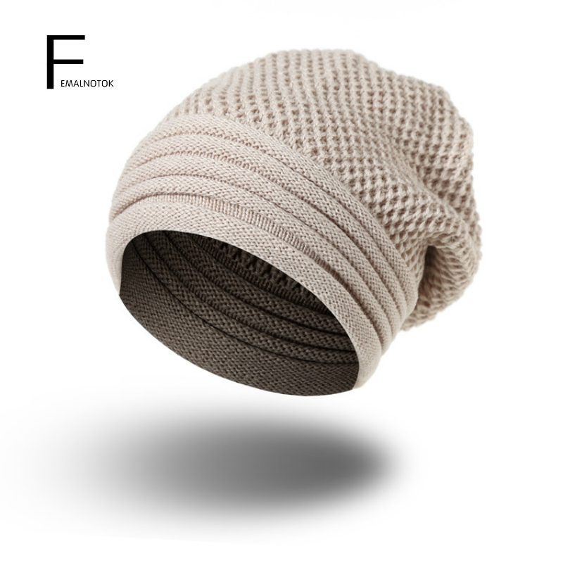 Autumn and winter hats for women and men brand designer solid color soft knitted hat warm beanie hats women Skullies fashion printed skullies high quality autumn and winter printed beanie hats for men brand designer hats