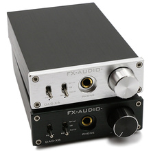 FX-Audio Feixiang DAC-X6 fever MINI HiFi USB Fiber Coaxial Digital Audio Decoder DAC 16BIT / 192 amplifier amp TPA612