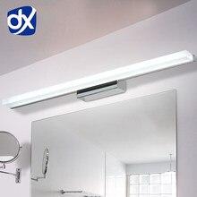DX Longer – applique murale étanche à LED en acrylique, 0.4M ~ 1.5M, AC90-260V, moderne, cosmétique, éclairage de salle de bain, livraison gratuite