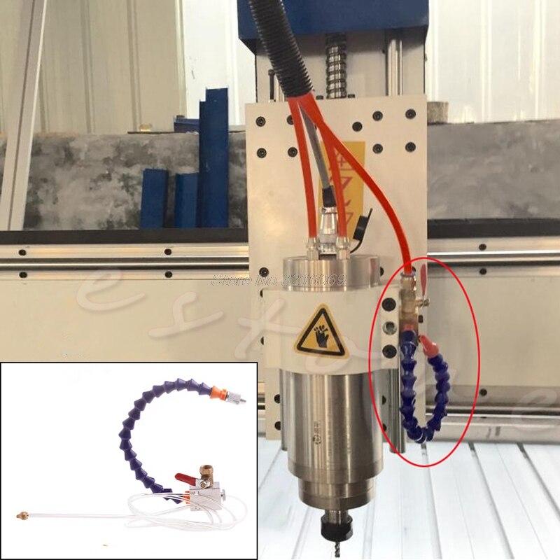 Blau Nebel Kühlmittel Schmierung Spray System Einheit für CNC Drehmaschine Fräsen Maschine Whosale & Dropship