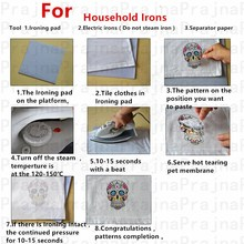 2 PCS Unicorn Butterfly Iron On Heat Transfers Cartoon Cars Flowers Girls Stickers Iron On Patches For Clothing T-shirts