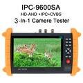 """Free shipping!IPC9600SA 7"""" Touch Screen Onvif IP HD-AHD Analog Camera Tester Monitor POE 12V"""