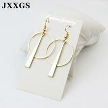 JXXGS Hot Sale Drop Earrings For Women Sexy Simple/ Fashion Geometric Accessories Earring Female Jewelry