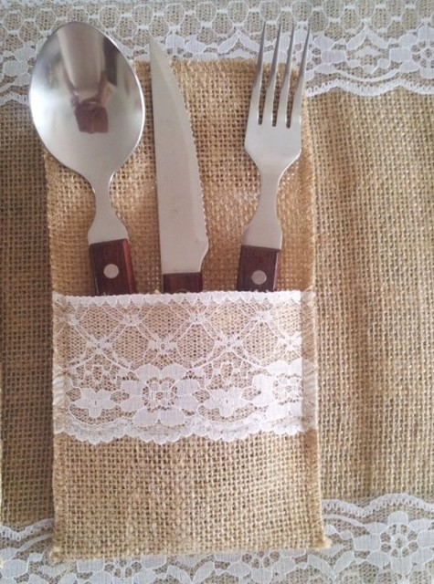 Wholesale wedding table mat dinning table accessories knife pouch wholesale wedding table mat dinning table accessories knife pouch burlap jute silverware holderscountry junglespirit Images
