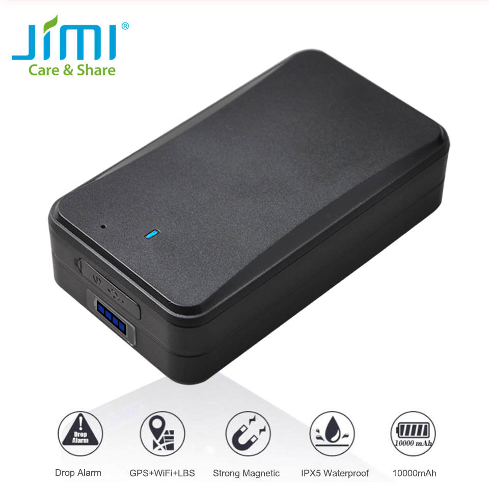 Concox AT4 Asset Tracker Waterproof IPX5 Car Magnet GPS Tracker With 10000mAh Recharge Battery 30 Days To 2.5 Years Working Time