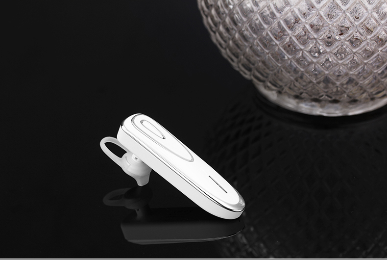 Super Standby King Headphone Car Earpiece Wireless Bluetooth V4.1 Earpiece Noise Cancelling Headset Hands-free with Mic