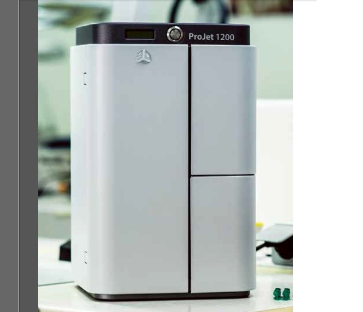 Projet1200 dlp light curing resin 3d printer lost wax for 3d wax printer for jewelry