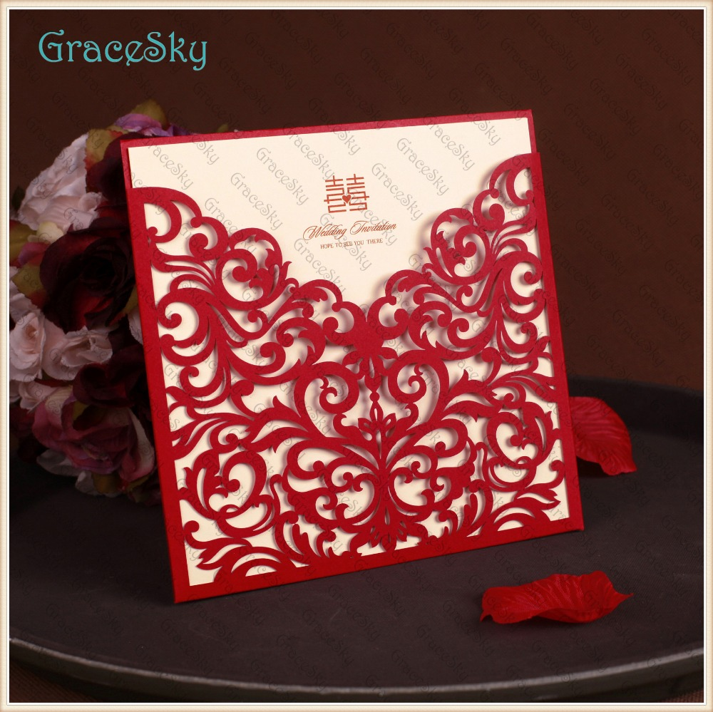 50PCS Free shipping Laser Cut European Classic Lace Flowers Design ...