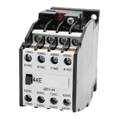 Coil 380V 50Hz 4NO + 4NC Auxiliary Contactor Relay JZC1-44  цена и фото