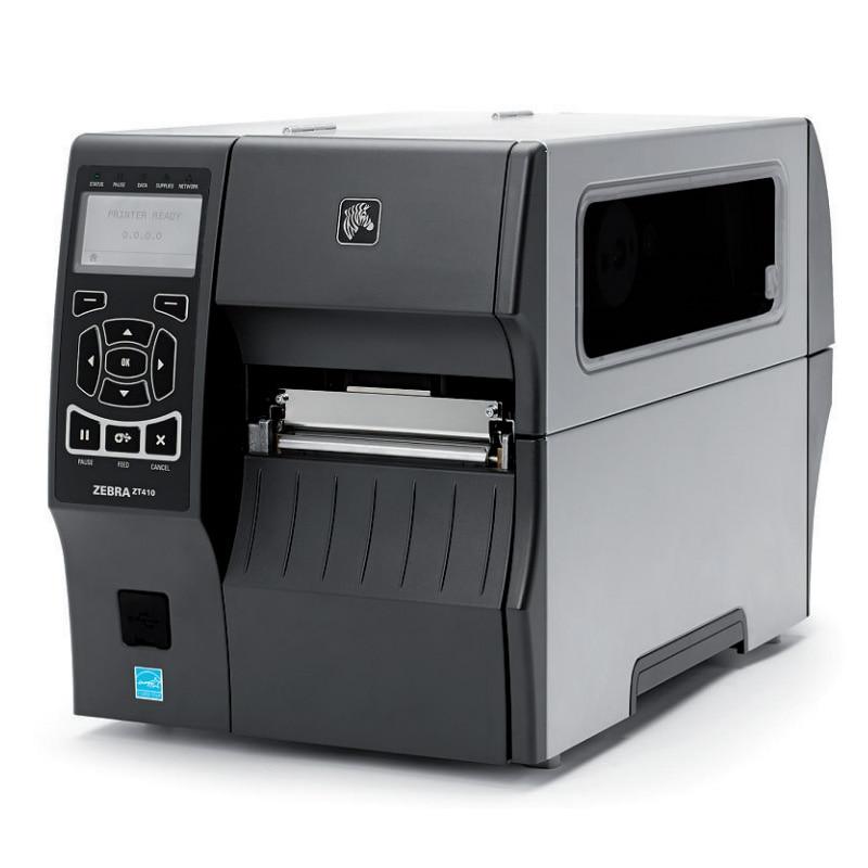 Zebra ZT410(300dpi) thermal barcode label Printer industrial printing machine ZM400 updated model usb serial ethernet port zebra printer gk888t thermal transfer barcode label machine support 1d