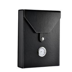 Mini cigare en bois Portable, nouveau conteneur à cigarettes noir mallette de rangement, produit de haute qualité, 8/10