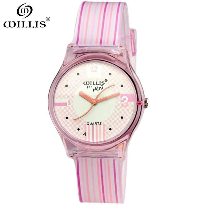 WILLIS Brand Women Watch Quartz Watches Silicone strap Lady Wristwatch Relogio Feminino Montre relogio Women waterproof Watch top luxury crystal brief design lady elegance slim strap leather wristwatch waterproof women quartz watch relogio feminino gift