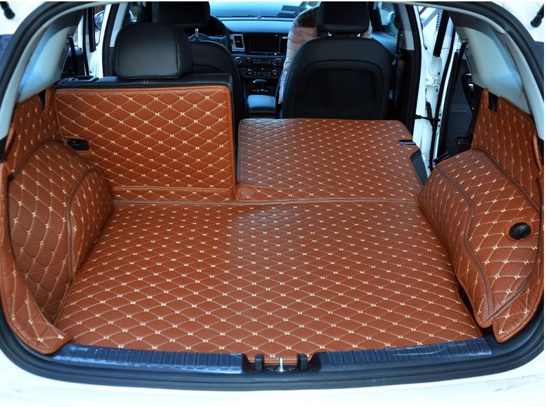 High Quality Special Car Trunk Mats For Kia Niro 2018 Waterproof Durable Boot Carpets Cargo Liner 2017 Free Shipping
