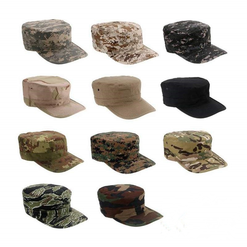 ACU CP Desert Woodland Digital Multicam Military Hat Army Cap Camouflage Marines Hats Hiking Tactical Combat Camo Caps Men