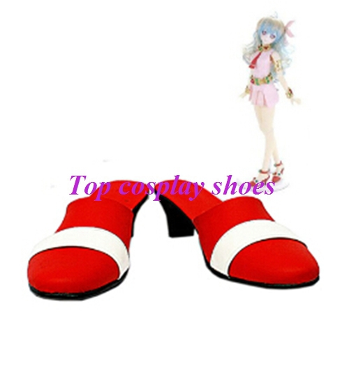 Freeshipping custom-made anime Gurren Lagann Nia Teppelin Cosplay Shoes for  Halloween Christmas festival