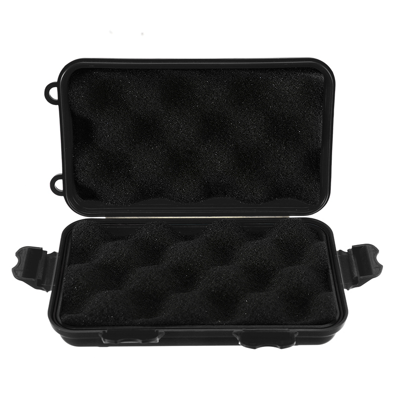 1PC Shockproof Outdoor Airtight Survival Storage Case Waterproof Camping Travel Container Carry Storage Box EDC Tools